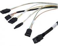 Внутренний кабель SFF-8643 - 4x SATA, 1 м