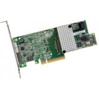 Низкопрофильный RAID-, SAS/SATA 12 Гбит/с, PCI Express 3.0 x8, 1 Гб кэш-памяти, RAID 0/1/5/6/10/50/60,  SAS3108