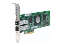 Адаптер HBA Qlogic 4Gb Dual Port FC HBA, x4 PCIe, LC multi-mode optic