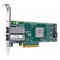 Адаптер HBA Qlogic 8Gb Dual Port FC HBA, x8 PCIe, LC multi-mode optic