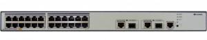 Коммутатор Huawei S2700-26TP-PWR-EI(24 Ethernet 10/100 PoE+ ports,2 dual-purpose 10/100/1000 or SFP,without power module)