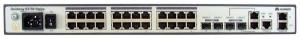 Коммутатор Huawei S3700-28TP-EI-MC-AC(24 Ethernet 10/100 ports,2 Gig SFP and 2 dual-purpose 10/100/1000 or SFP,2 MC ports,AC 110/220V)