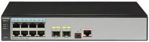 Коммутатор Huawei S5700-10P-LI-AC(8 Ethernet 10/100/1000 ports,2 Gig SFP,AC 110/220V)