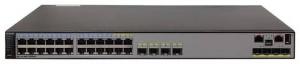 Коммутатор Huawei S5710-28C-PWR-EI Bundle(24 Ethernet 10/100/1000 PoE+ ports,4 of which are dual-purpose 10/100/1000 or SFP,4 10 Gig SFP+,with 580W AC power)