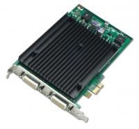 Видеокарта NVIDIA Quadro NVS 440 256MB PCIEx16, кабели DMS-59 to Dual VGA/DVI в комплекте, поддержка 4х дисплеев