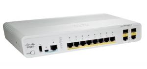Коммутатор Cisco Catalyst 2960C Switch 8 FE PoE, 2 x Dual Uplink, Lan Base